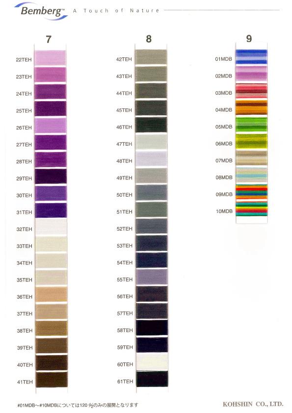 color sample #22TEH~10MDB